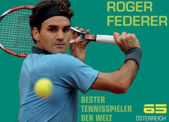 Federer Stamp