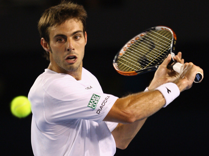 debut last weekend in Spain, current world No. 110 Marcel Granollers
