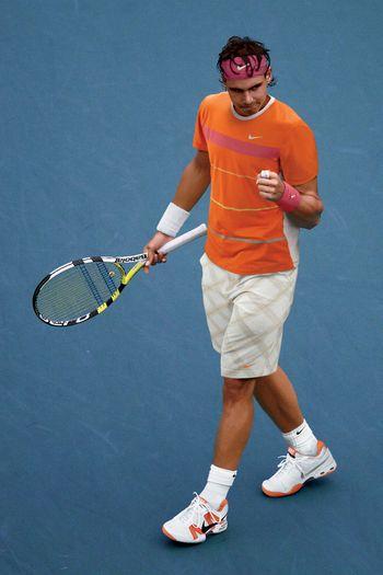 Nadal Breaking In His Nike 2.3 Ballistec Shoes