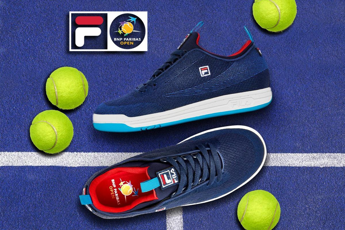 FILA & BNP Paribas Open Launch Limited Edition Footwear