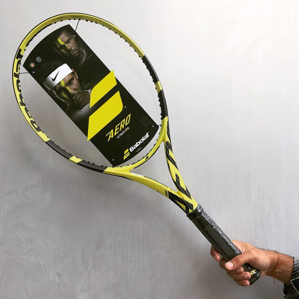 Previewing the 2019 Babolat Pure Aero for Rafael Nadal  ce5541c95c1b5